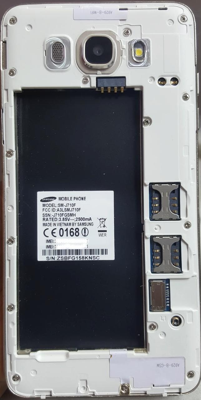 Samsung J710F Clone MT6589 Firmware Free Download (100% Working