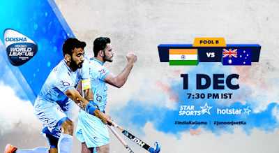 Hockey World League Final 2017, Live Update, India vs Australia