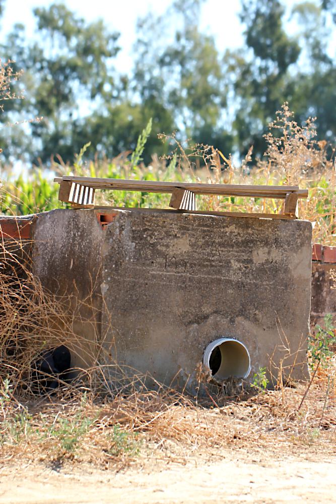 Kanalreste des alten Bewässerungssystems, entstanden in der Ära Franco | Arthurs Tochter Kocht von Astrid Paul