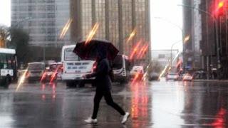El servicio metereológico nacional avisa de fuertes tormentas que además de buenos aires afectaría el litoral, la pampa y san luis