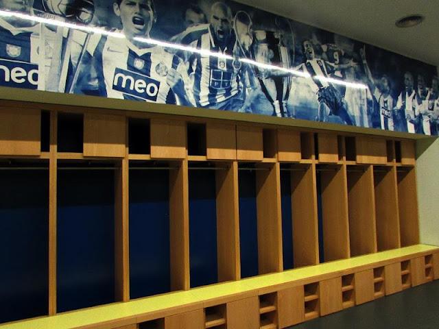 Vestiário do Estádio do FC Porto