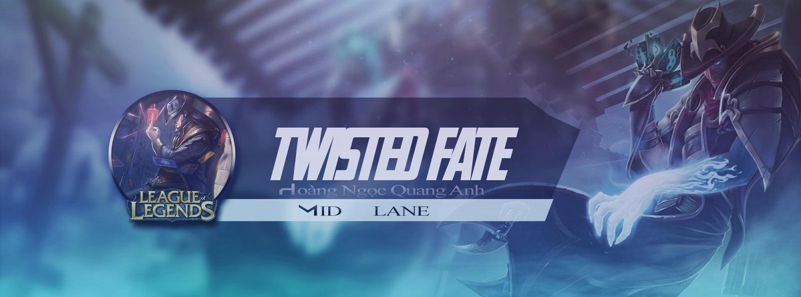 Ảnh bìa liên mình huyền thoại - Twisted Fate
