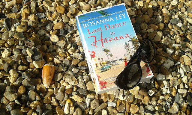 paperback book on beach