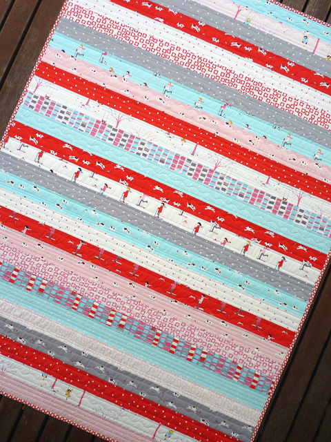 Red Pepper Quilts Sherbet Pips Quilt