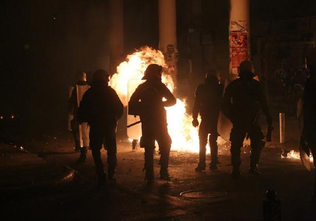 Αστυνομικοί Θεσσαλονίκης: Δεχόμαστε βροχή μολότοφ