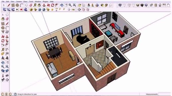 5 Software Desain Rumah Gratis Cocok Untuk Pemula