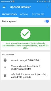 Xposed Redmi Note 4