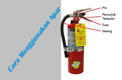 Cara Memadamkan Api Menggunakan Tabung Apar - Alat Pemadam Api