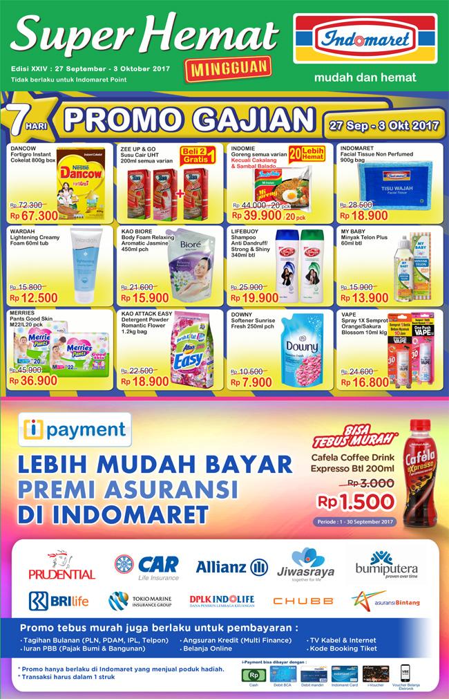 promo jsm indomaret terbaru periode 27 september 3 oktober 2017 rh promohariinii blogspot com