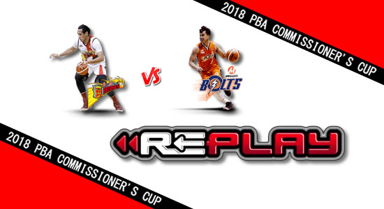 Video Playlist: SMB vs Meralco game replay May 09, 2018 PBA Commissioner's Cup
