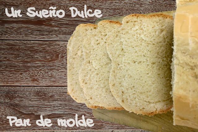 Pan de molde en panificadora