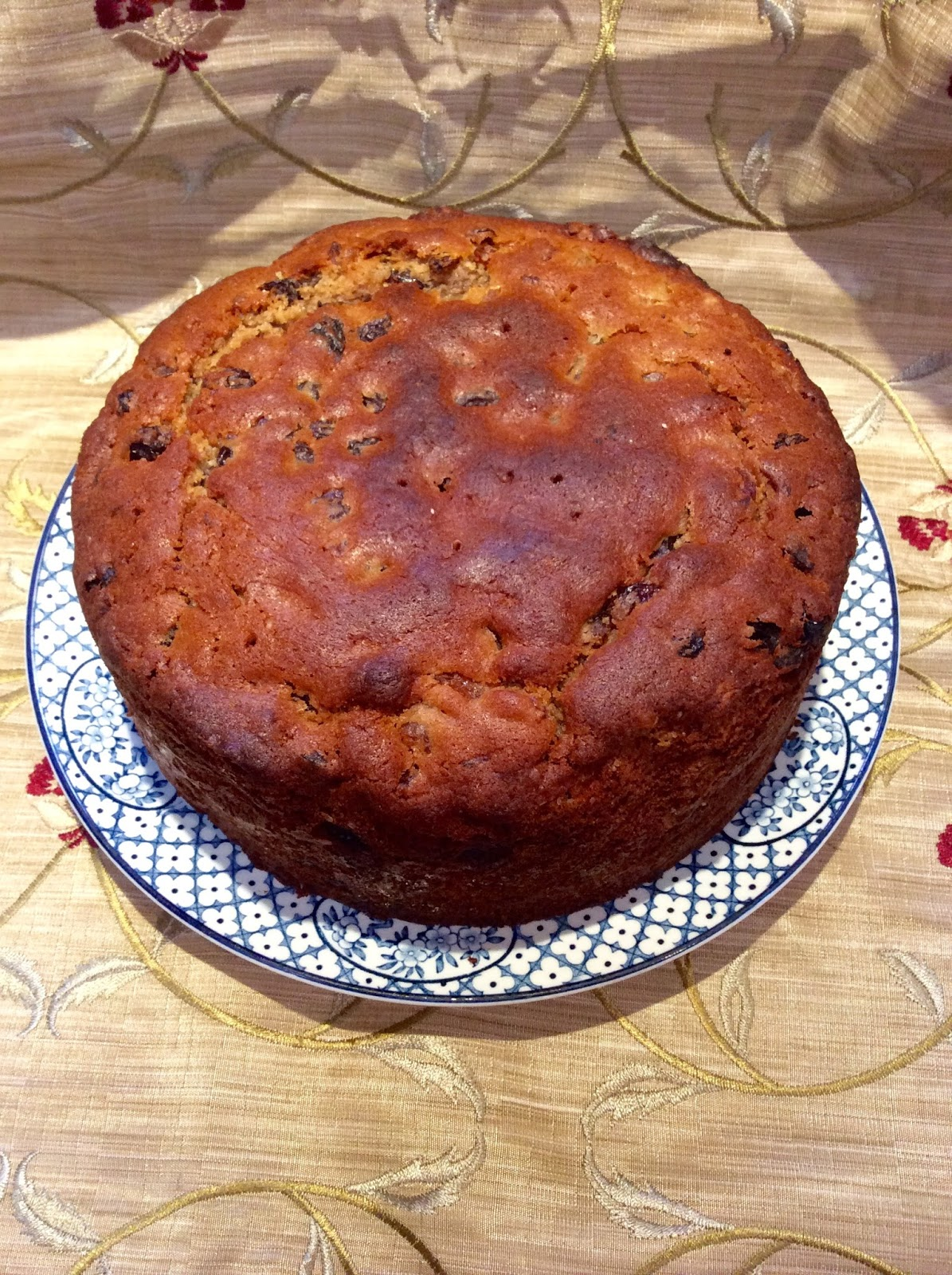 Chez Maximka: Boiled fruit cake