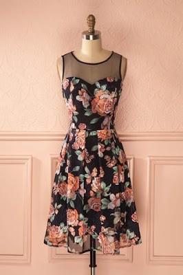 vintage elbiseler