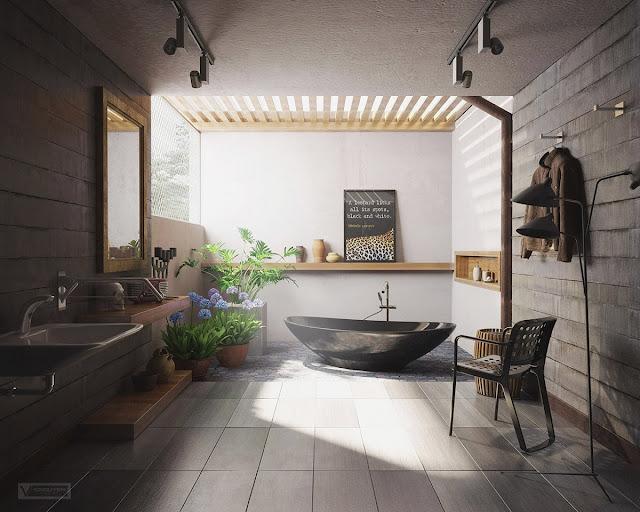 Những điều cần lưu ý khi thiết kế nội thất phòng tắm theo phong thủy 1