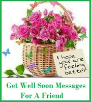 get well soon messages and wishes