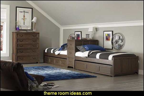 Kenwood Twin Panel Customizable Bedroom Set