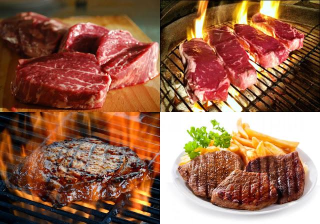 أحلى وأسهل طريقة لعمل ستيك اللحم في المنزل