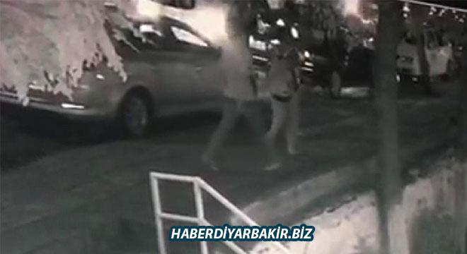 Diyarbakır Bağlar'da kapkaççılar güvenlik kamerasına yakalandı