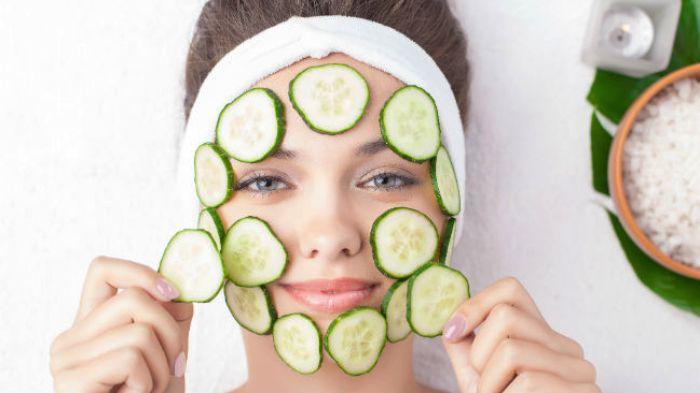 Muka Berminyak, 8 Manfaat Mentimun Untuk Kecantikan Wajah