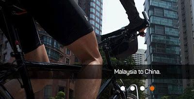 Berbasikal Dari Malaysia Ke China Untuk Bina Semula Rumah