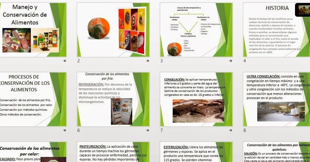 metodos de conservacion de alimentos congelacion
