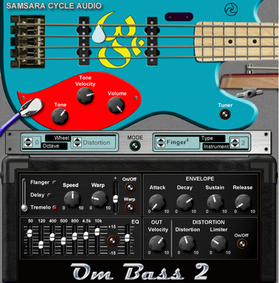 Plugin VST Guitar Electric Bass - OMB1 e 2