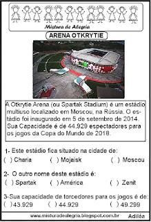 Arena Otkrytie copa mundial Rússia