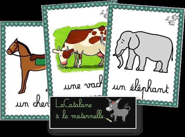 Sac au trésor - animaux (LaCatalane)