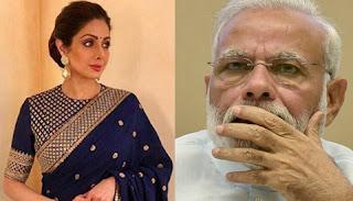Narendra Modi mourns on Sridevi's sudden demise