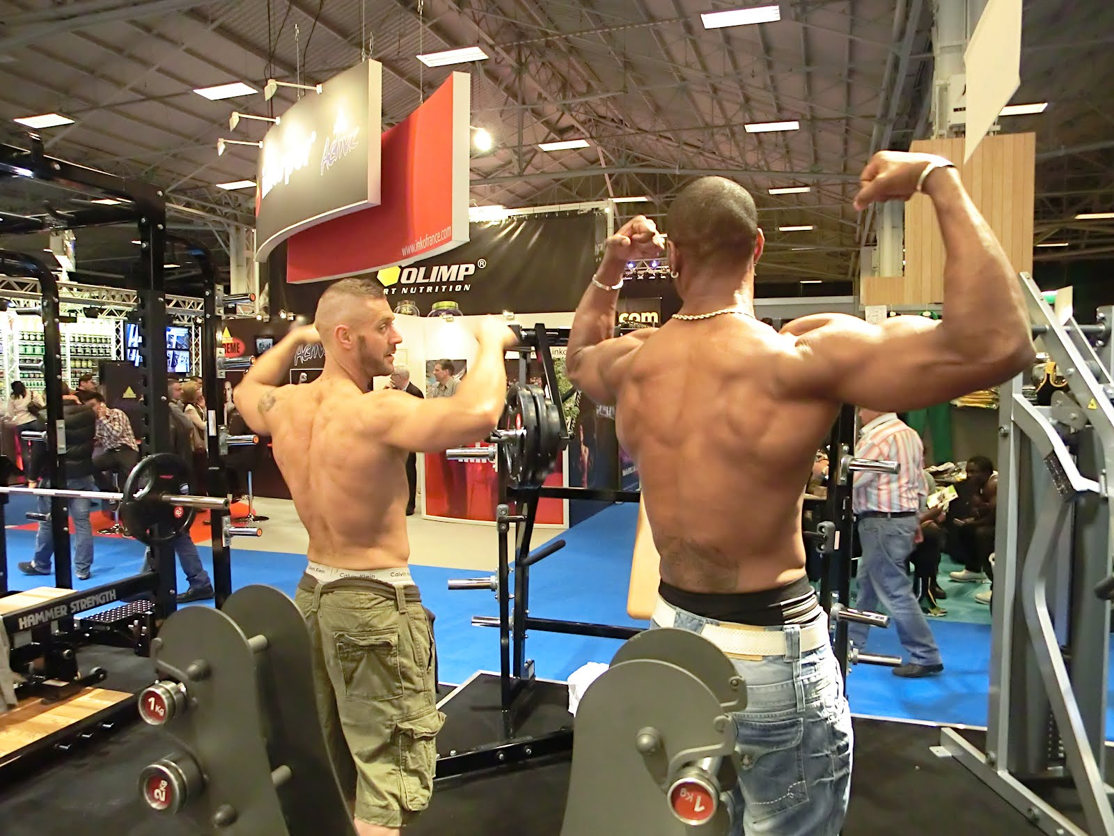 Salon Du Fitness 2017 Grégory Capra Visite Au Body Fitness Form 39expo 2012