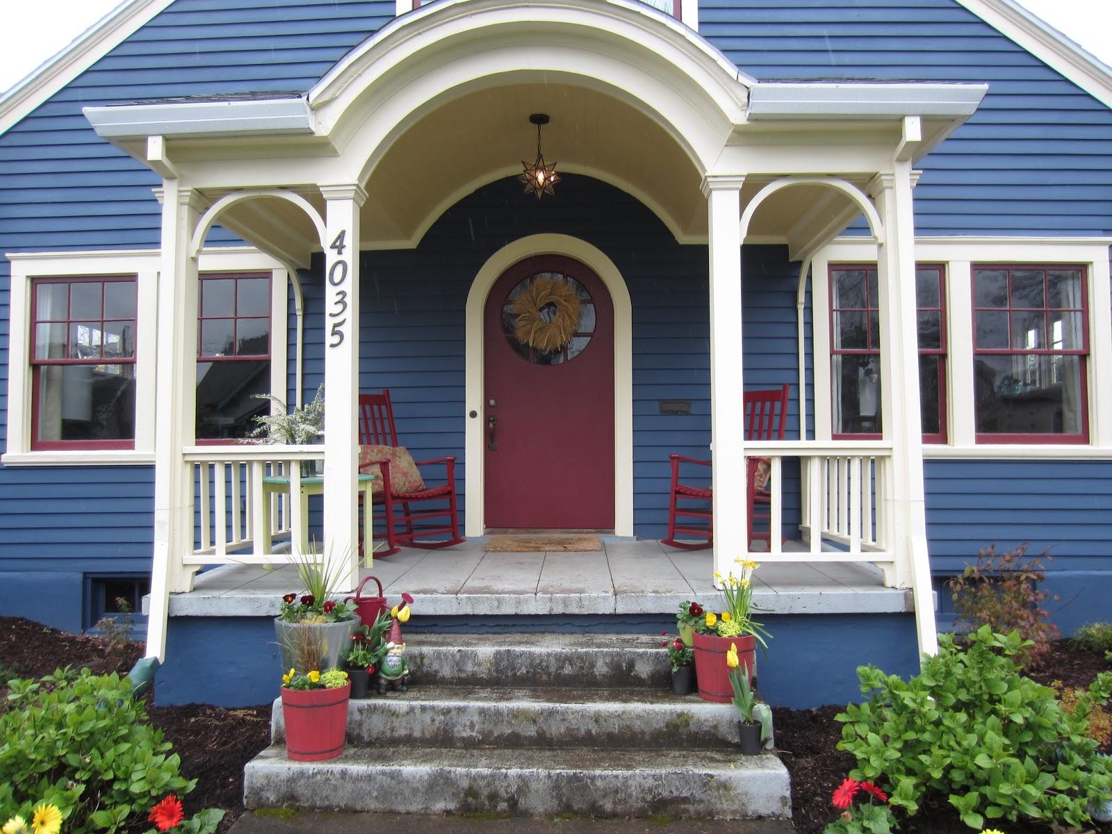 Castle and Mason: Front Porch Paint
