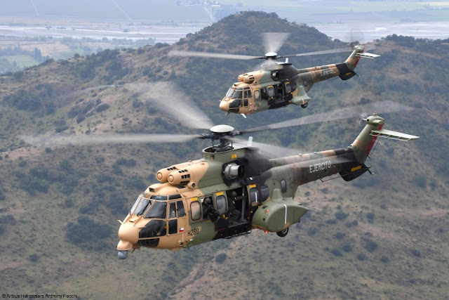 AIRBUS HELICOPTERS DELIVERS LAST H215M TO CHILEAN ARMY
