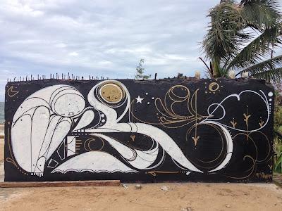 puerto rico graffiti street art mural Matthew Reid