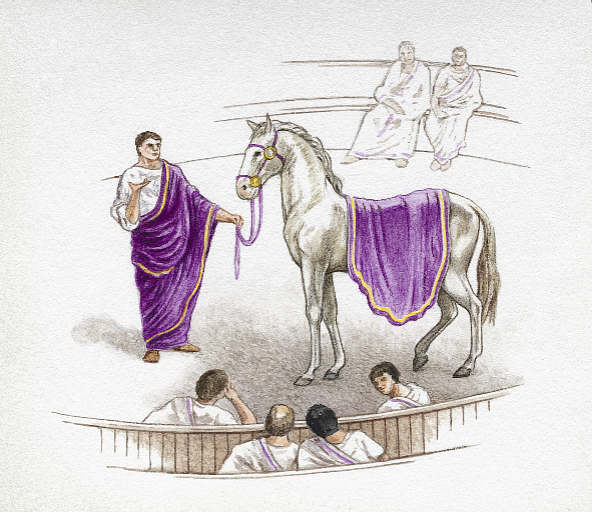 Calígula e Incitatus