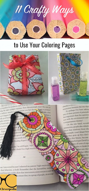 Crafty Ways To Use Your Coloring Pages