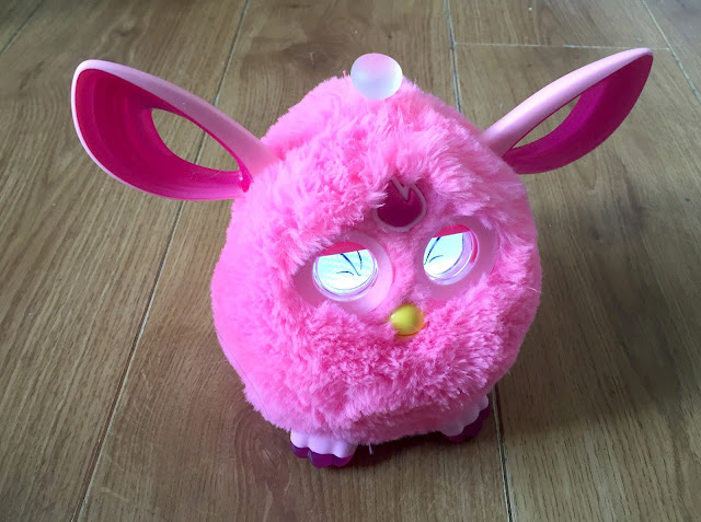 Furby connect pink toy review