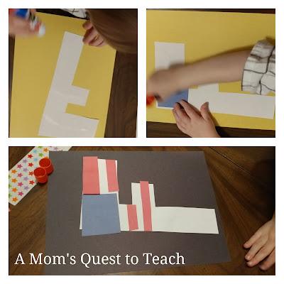 American Flag, Kids Crafts, Preschool