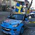 Tom Kristensson drygar ut ledning i Opel Adam cup