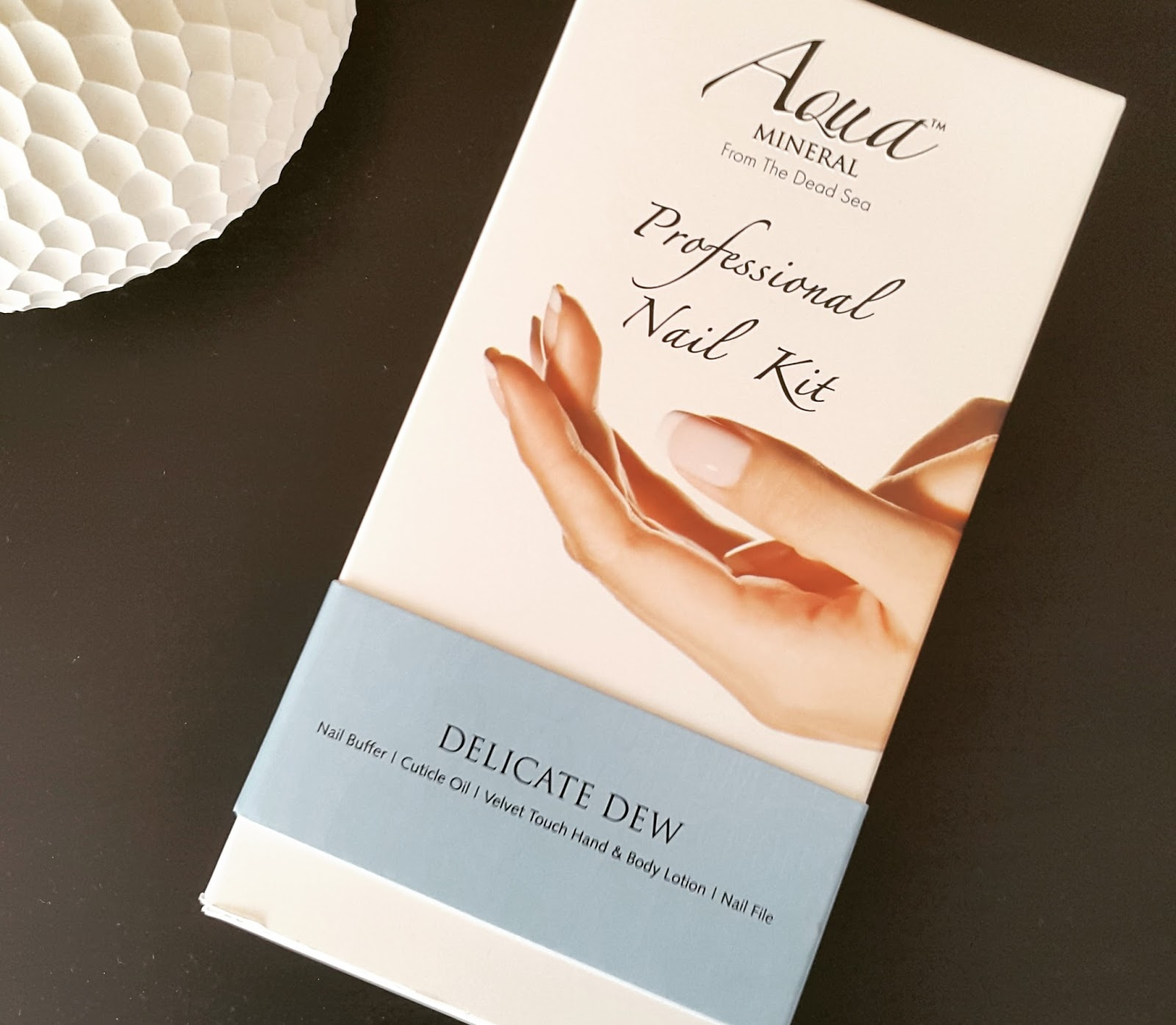 Aqua Mineral Delicate Dew Nail Care Kit - Insanely It
