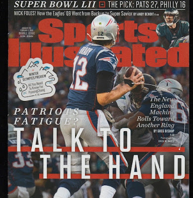 Tom Brady LII Superbowl Cover