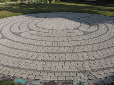 Labyrinth at Teaticket Elementary School