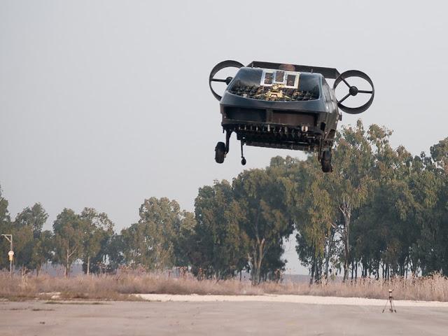 x2 - Israel Kembangkan Drone Ambulans untuk Militer