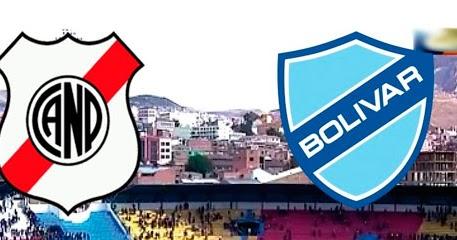 En vivo Nacional Potosí vs. Bolívar