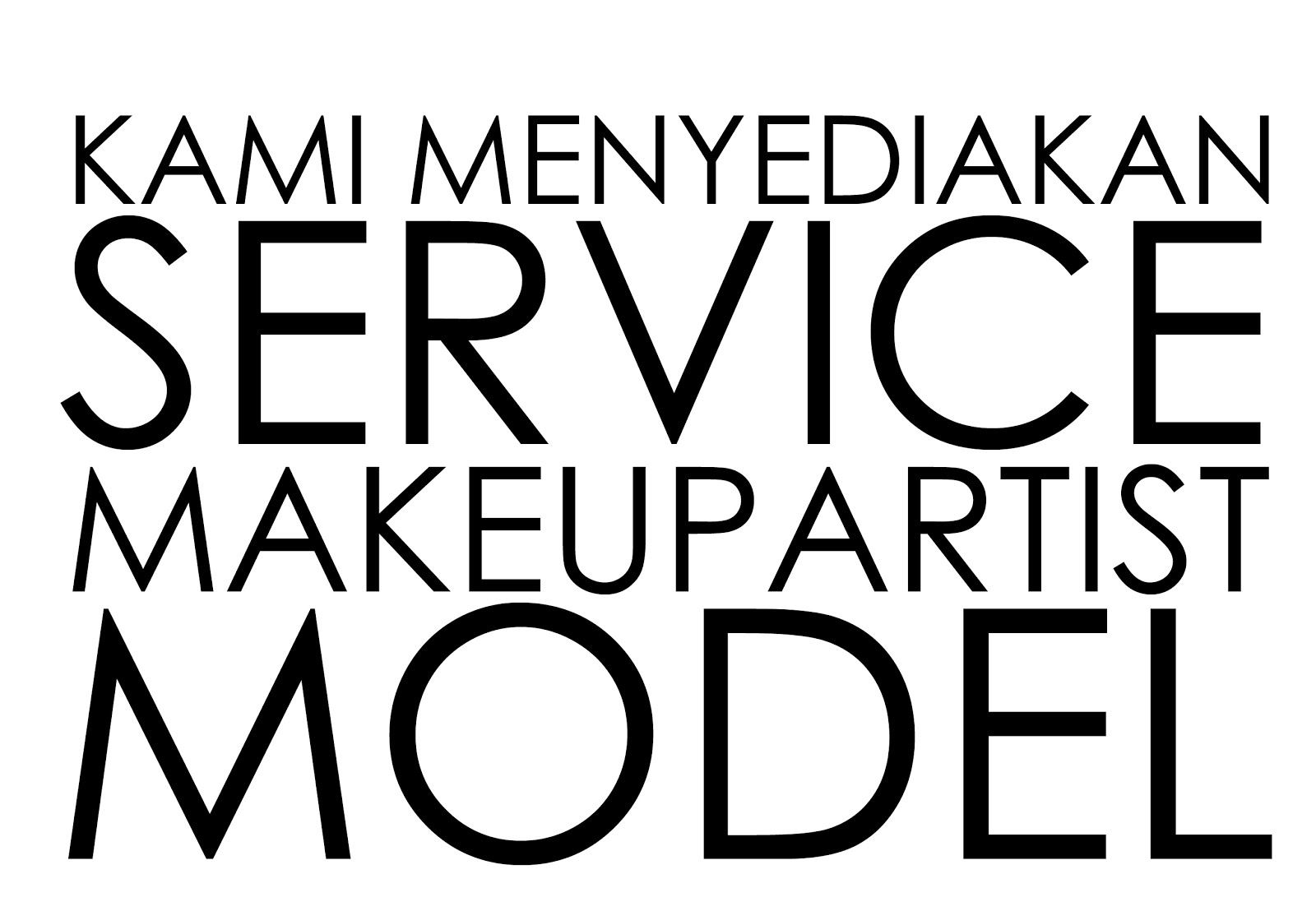 MODEL& MAKEUPARTIST SERVICE