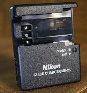 Jual Charger Nikon D3000, D5000, D40, D60 ( MH-23 )