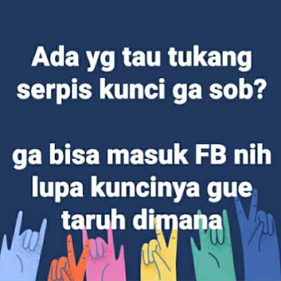 Contoh status kocak di facebook