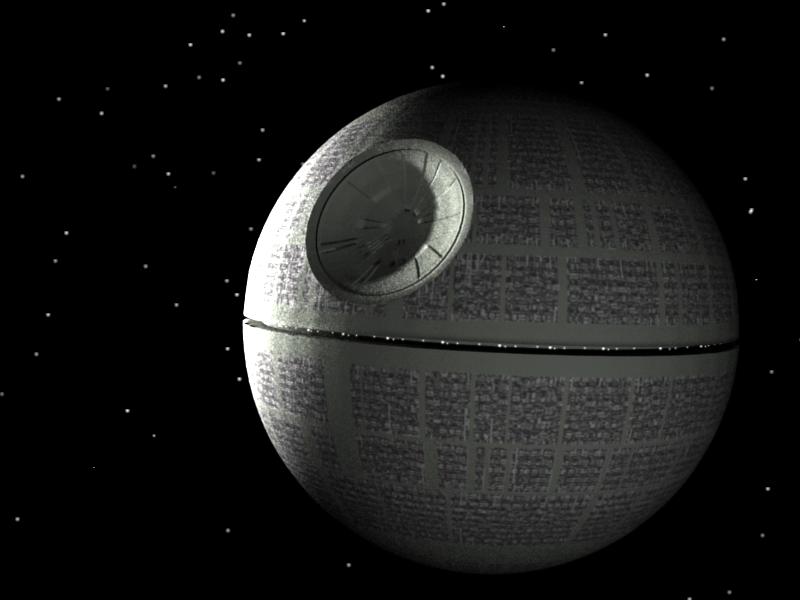 Vu d 39 ici lu ailleurs l 39 etoile de la mort s 39 invite chez nous - Lustre star wars ...