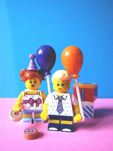 Lego minifigure photo