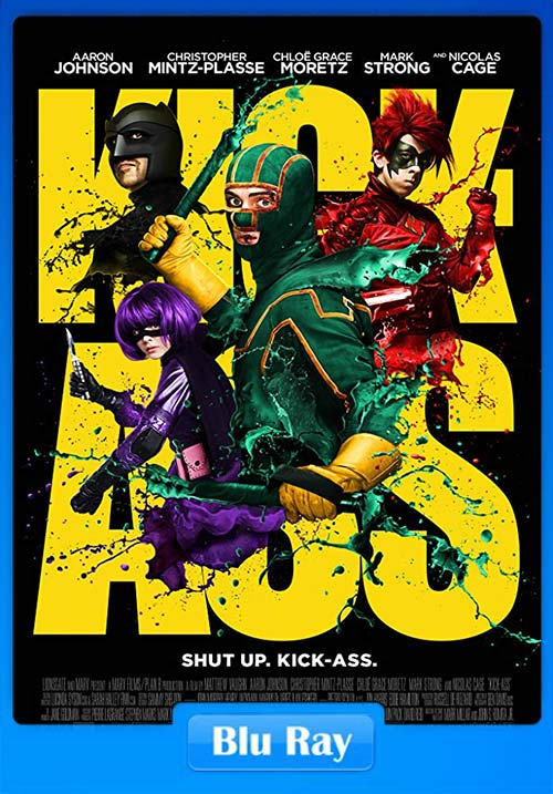 Kick Ass 2010 720p BrRip x264 | 480p 300MB | 100MB HEVC