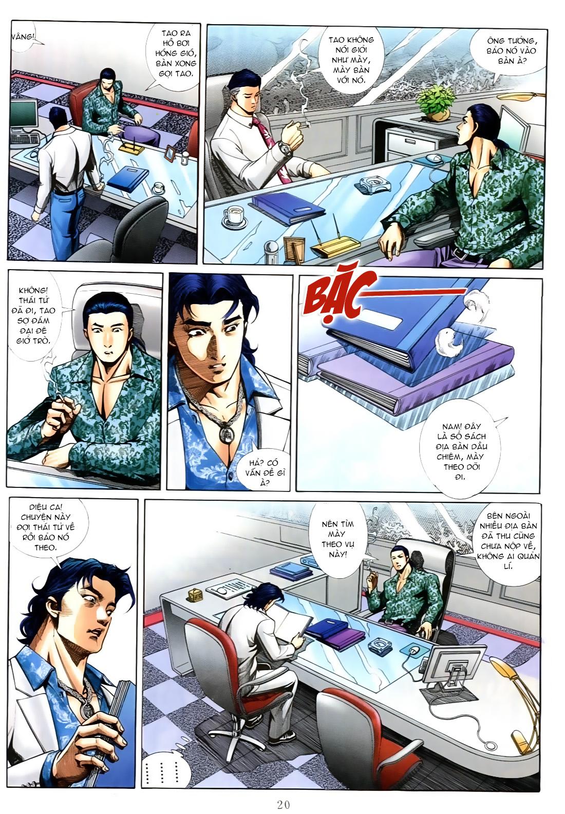 Người Trong Giang Hồ chapter 556: làm khó nam đẹp trai trang 14